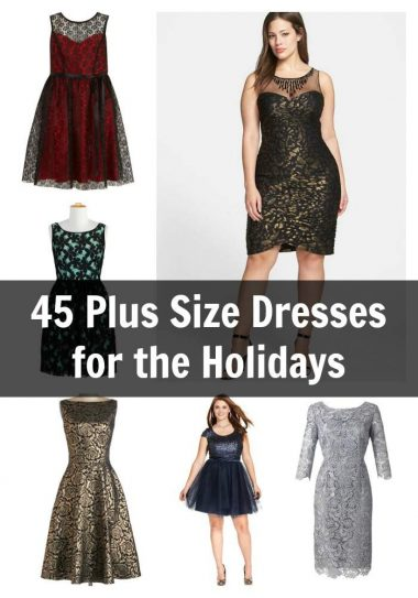 MUST HAVE Plus Size Holiday Dresses