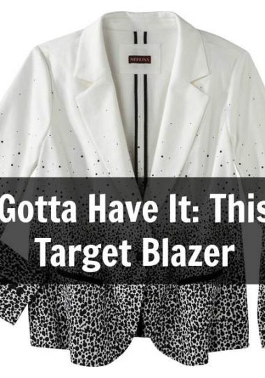 The Plus Size Blazer from Target on the Curvy Fashionista