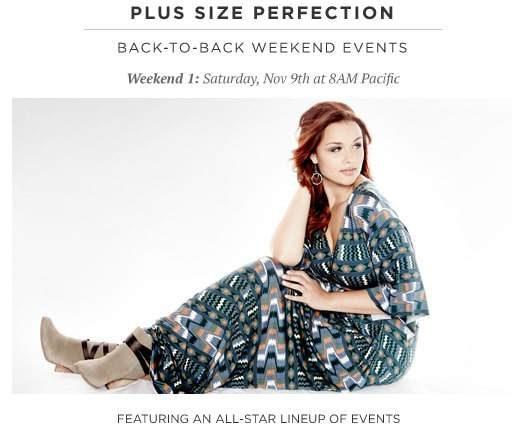 HauteLook Plus Size Sale THIS Saturday