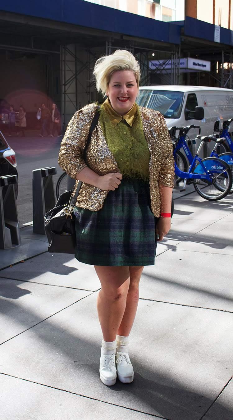 Margie Plus on The Curvy Fashionista