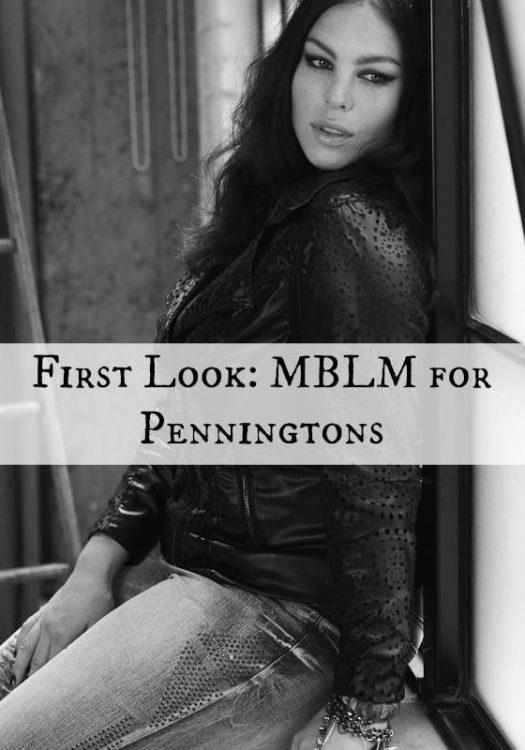 Plus size MBLM for penningtons