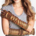 foil-print-fingerless-gloves