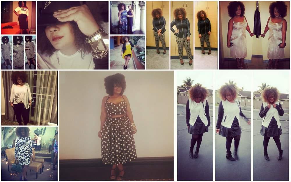 The Curvy Fashionista on Instagram