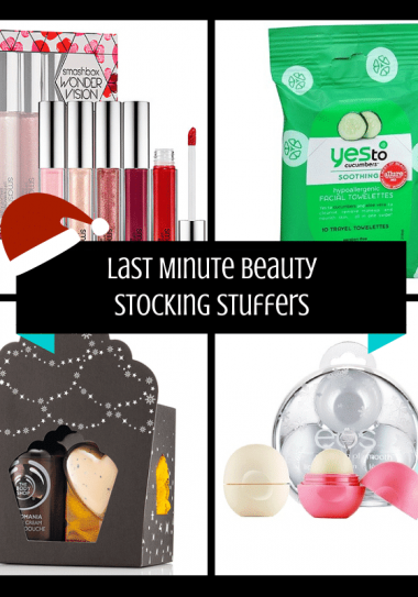 Last Minute Beauty Stocking Stuffers