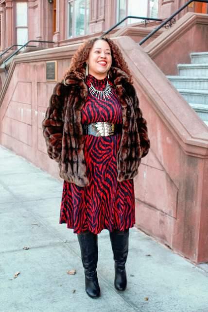 La Pecosa Preciosa on The Curvy Fashionista