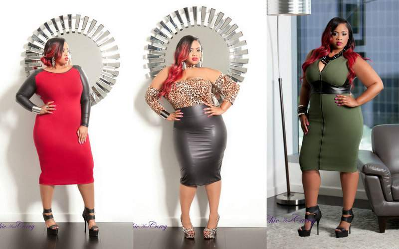 Chic and Curvy Boutique Holiday Look Book