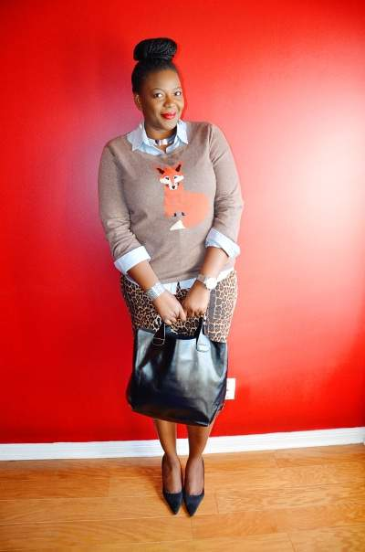 Five Looks We Love: Sweater Weather - My Curves and Curls on The Curvy Fashionista