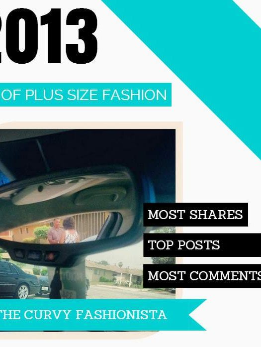 Best of 2013 in Plus Size Fashion on The Curvy Fashionista