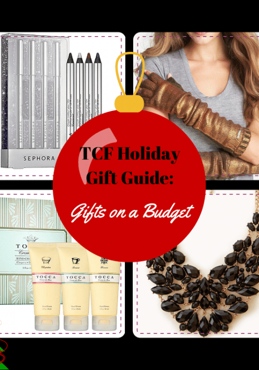 The Curvy Fashionista Holiday Gift GuidE- Gifts on a Budget