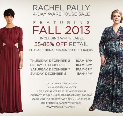 Rachel Pally Warehouse Sale