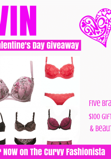 Valentine's Day Curvy Couture Plus Size Lingerie Giveaway