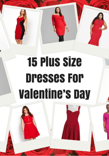 Plus Size Dresses For Valentines Day