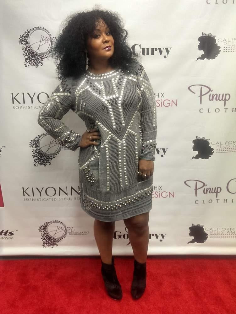 ASOS Curve Black Label Dress on The Curvy Fashionista