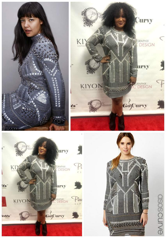 ASOS Curve Black Label Dress