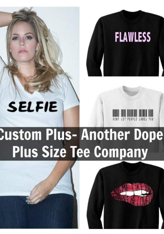 Custom Plus- Another Dope Plus Size Tee Company