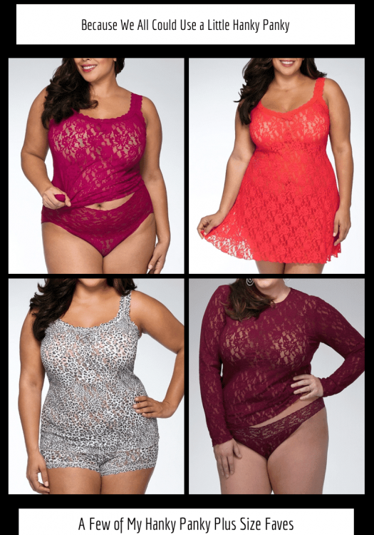 Because We All Could Use a Little Plus Size Hanky Panky