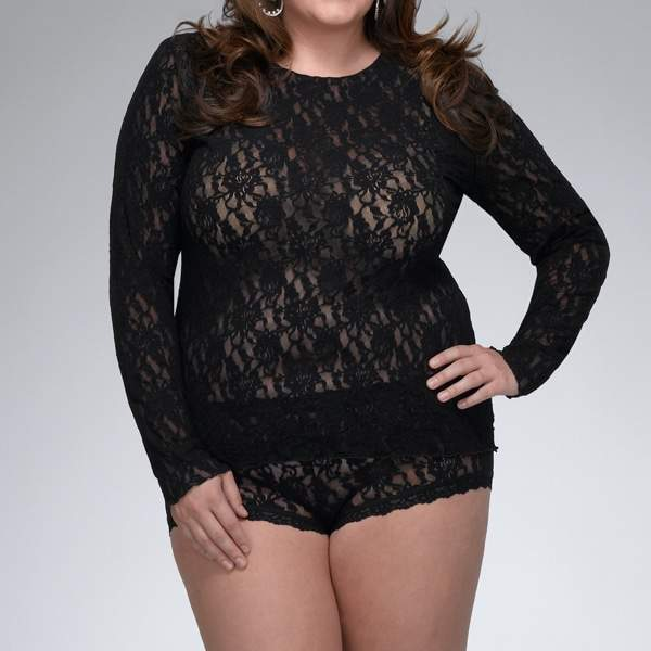 A Few of My Hanky Panky Plus Size Faves on the Curvy Fashionista