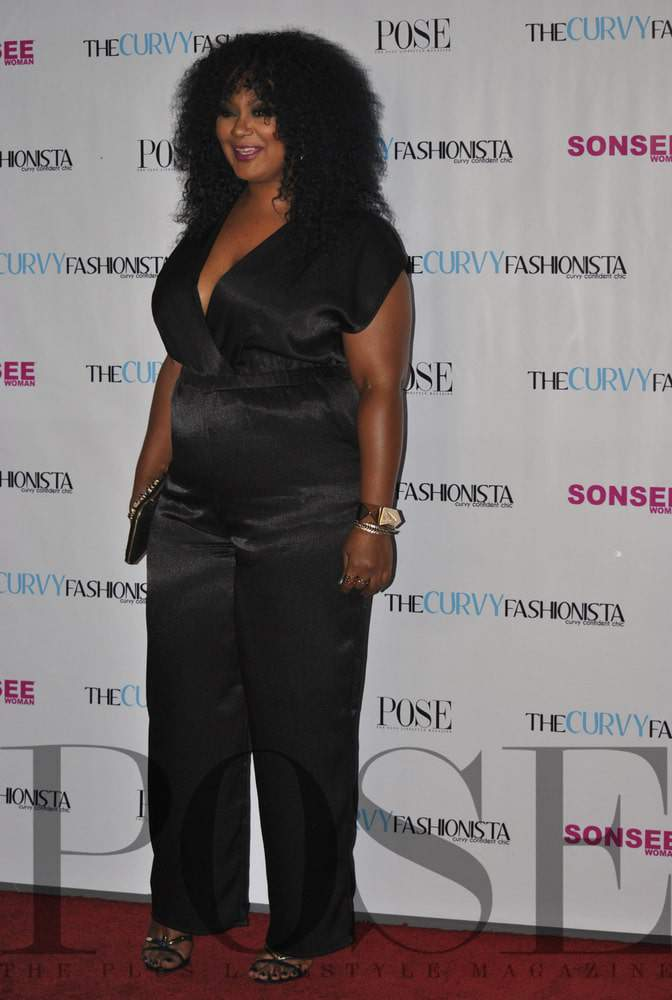 My #TCFTurns5 Party Look on The Curvy Fashionista