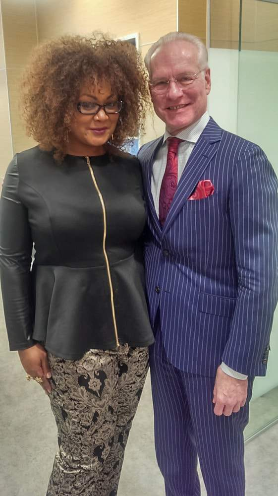 #OnMyWayToFab with Tim Gunn for the People's Choice Awards