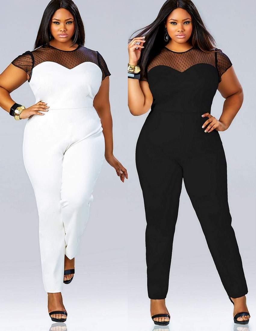 contemporary plus size fashion- Monif C
