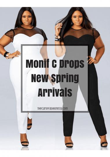 Plus Size Designer Monif C Drops New Spring Arrivals