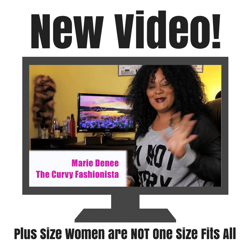 Plus Size Women are NOT One Size Fits All