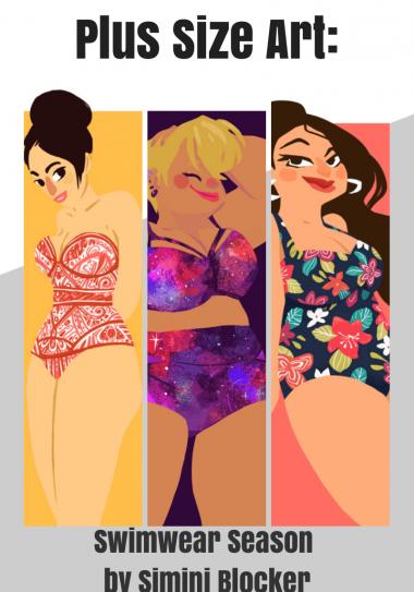 Swimwear Season by Simini Blocker on The Curvy Fashionista