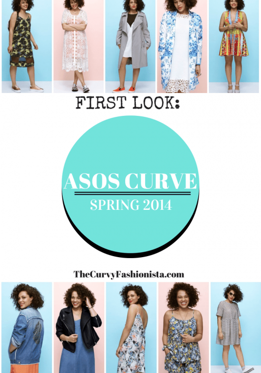ASOS CURVE Spring 2014 Collection on the Curvy Fashionista