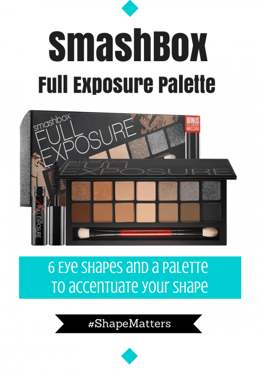 SmashBox Introduces #ShapeMatters Full Exposure Palette and I Kinda Love!