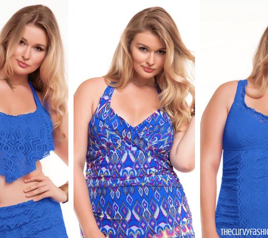 Becca Etc Plus Size Swimwear Collection