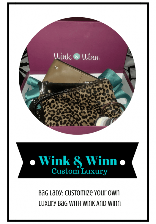 Bag lady: Customize Your Own Bag with Wink And Winn