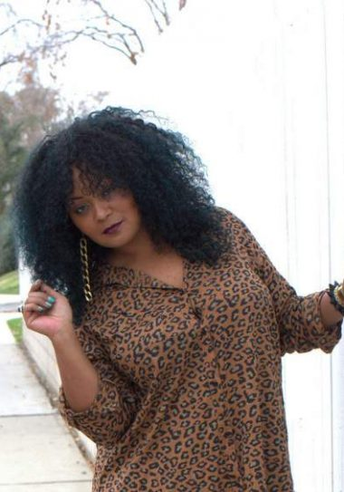 Remixing It in My Animal Print Simply Be Dress