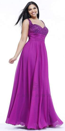 Sequin Faviana Gown