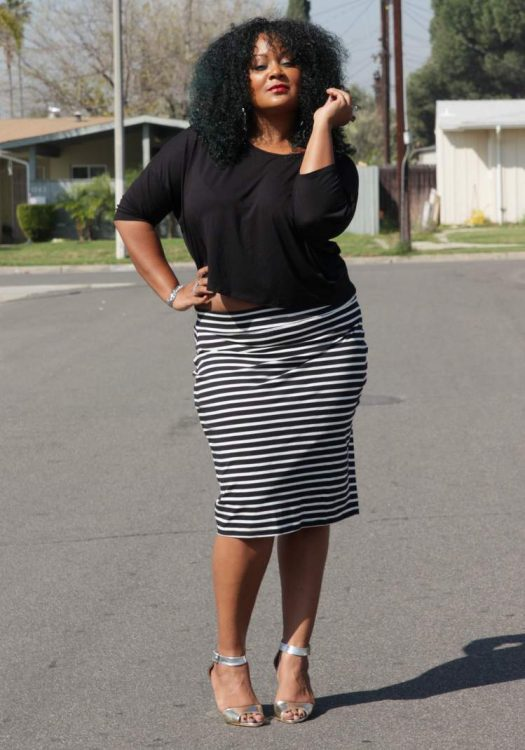 My Style: Black and White and Striped All Over in 17 Sundays