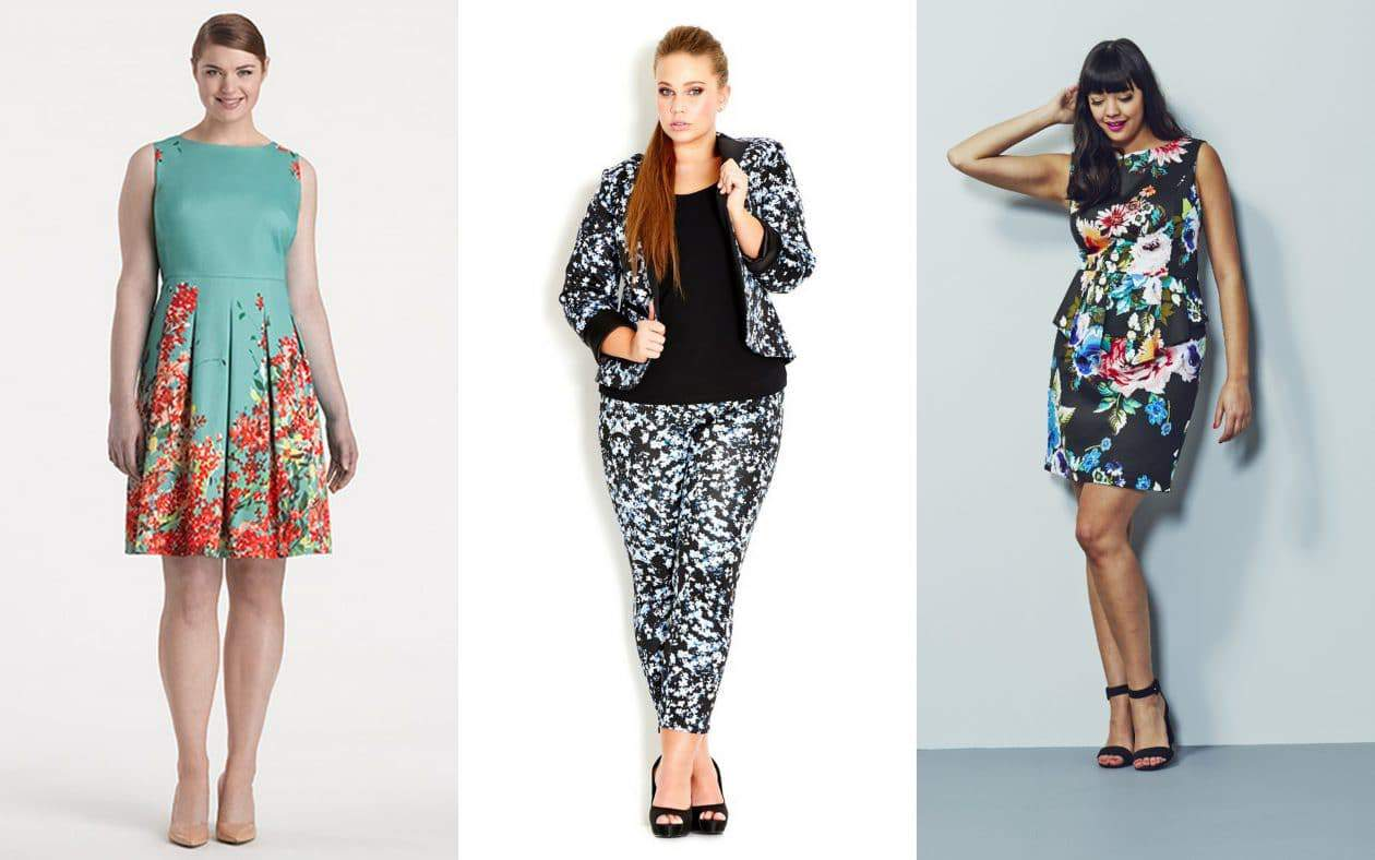 Floral Trends- The 2014 Plus Size Spring Trends Report on The Curvy Fashionista