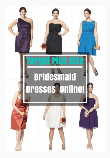 Target Plus Size Bridesmaid Dresses NOW Online | The Curvy Fashionista