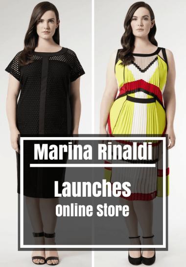 Luxury Plus Size Designer Marina Rinaldi Launches Online Store