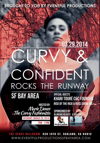 Curvy & Confident Rocks the Runway Plus Size Fashion Show in the Bay Area