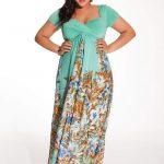 Christina Maxi Dress at Igigi- Plus Size Floral Dresses on The Curvy Fashionista