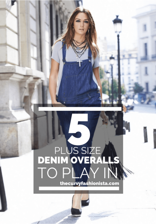 Five Plus Size Denim Overalls to Play In
