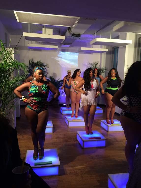 Monif C Plus Sizes #MyBeachisBetter Event  on The Curvy Fashionista
