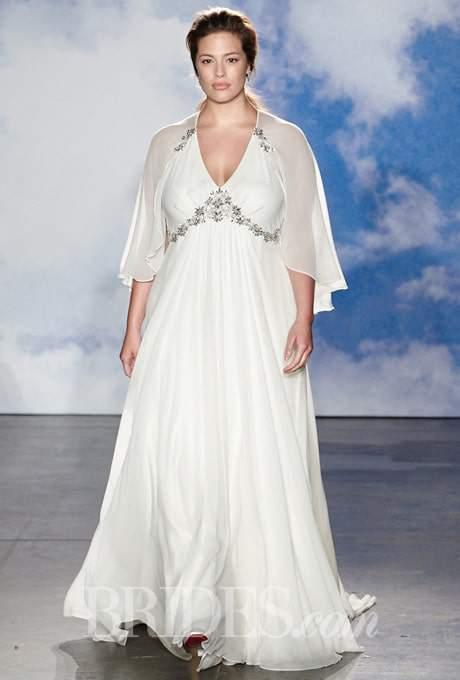 Jenny Packham 2015 Bridal Collection - Ashley Graham