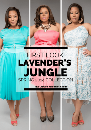 First Look at Lavender's Jungle Spring Collection Look Book
