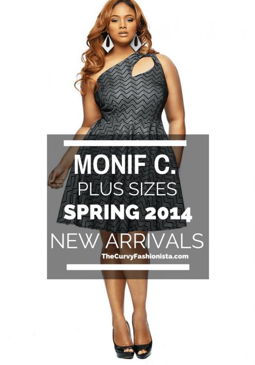 Monif C Plus Sizes Spring 2014 on The Curvy Fashionista