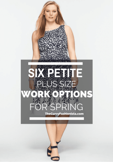 6 Petite Plus Work Options for Spring