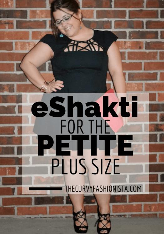 eShakti for the Petite Plus Size Fashion Lover