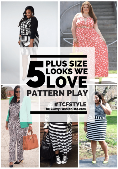 Five Looks We Love: Pattern Play for Spring in #TCFSTYLE