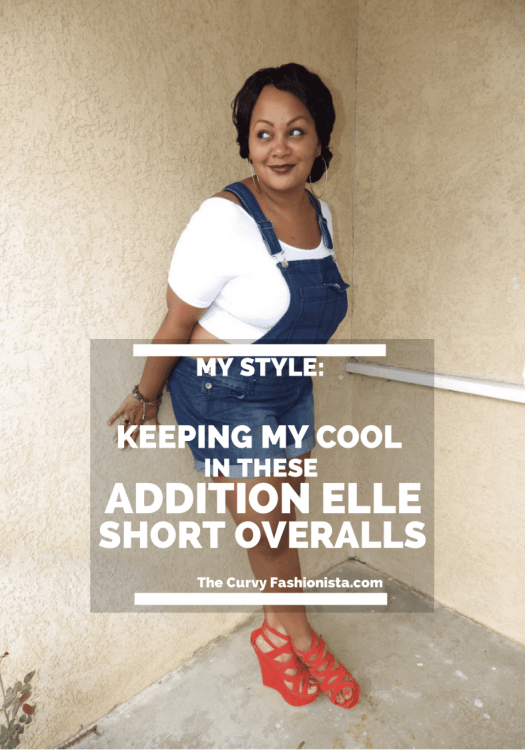 My Style: Keeping My Cool in my Plus Size Overalls