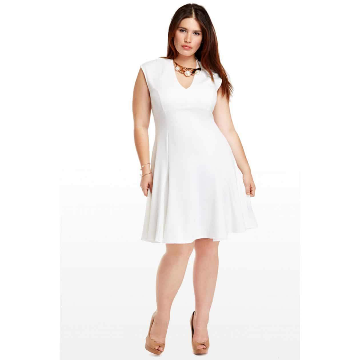 Fashion to Figure Sara Ponte Flare Dress