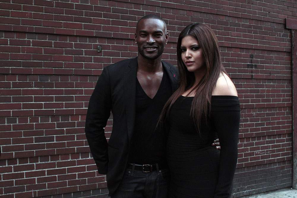 Tyson Ford and Denise Bidot